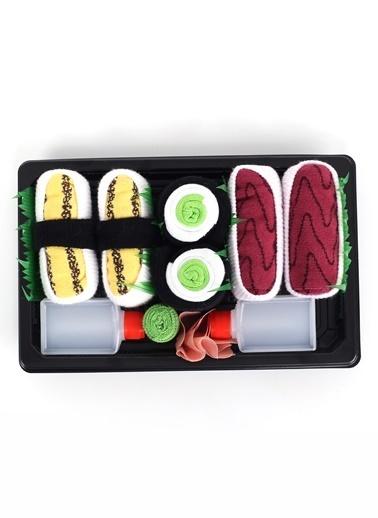 Socks+Stuff 3'lü Bento Box Çorap Set 3 Sarı